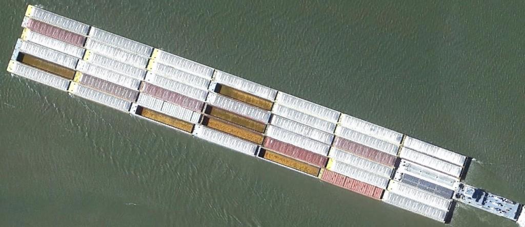 42 Barge Tow NOLA